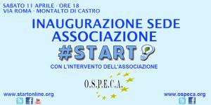 Inaugurazione Start 10 Aprile 18